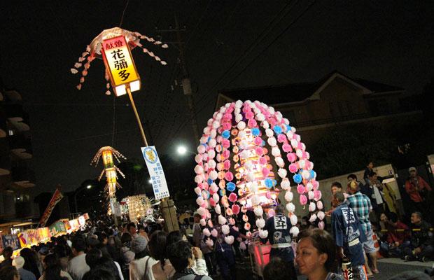 日蓮聖人入滅(逝去)の地である池上本門寺の御会式は、雑司が谷の御会式と並び東京三大御会式のひとつ。