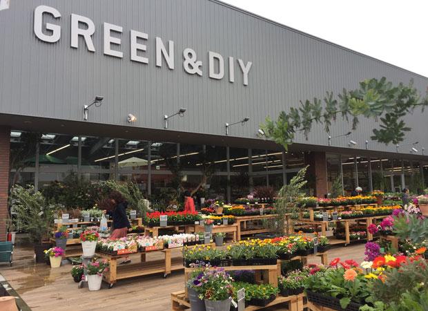 グッデイ新築店舗は、オシャレで立ち寄りやすい。