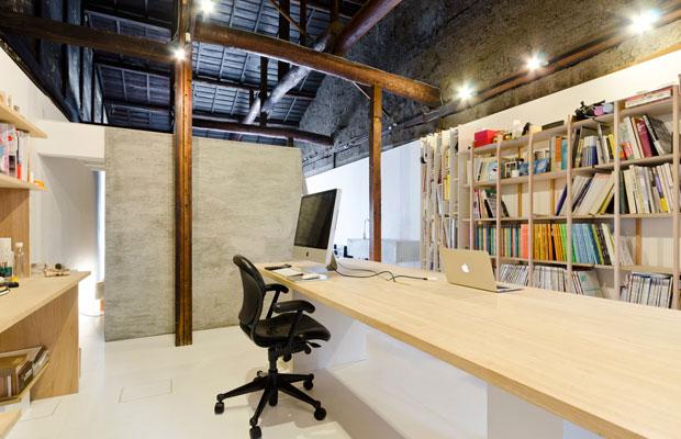 事務所スペース。