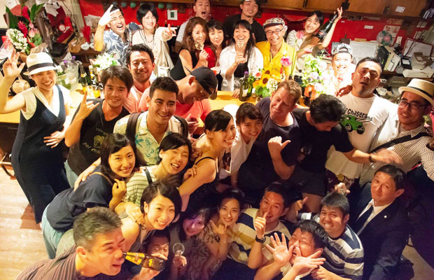 今年で10周年を迎えた鎌倉美学。7月7日の七夕の日にはアニバーサリーパーティも行われ、音楽ライブなども開催された。(写真提供:鎌倉美学)