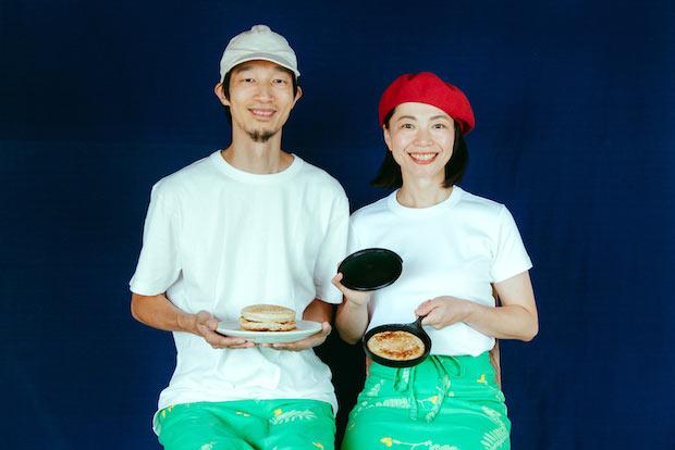 〈マリールゥ〉の鈴木誉也さん(左)、鈴木英美子さん(右)。