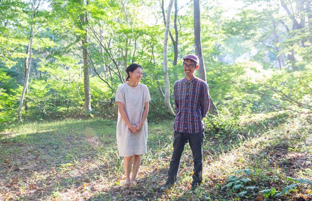 オーナーの爲石篤史さんと麻美子さん。