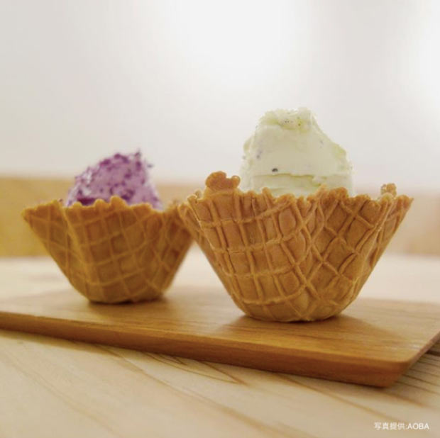 実はソーシャルグッドな試み!畑で採れた素材の味を直に味わえるアイスのお店〈AOBA〉