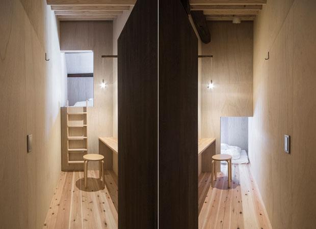 隣り合うそれぞれ独立した2室を並べて見る。(撮影:松村康平)