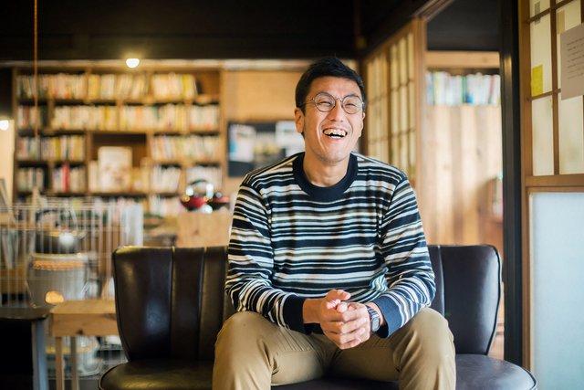 杉川幸太さん。最近は曜日ごとに室長さんがいるので、杉川さん自身が常に〈ほたる荘〉にいなくても回る体制になった。