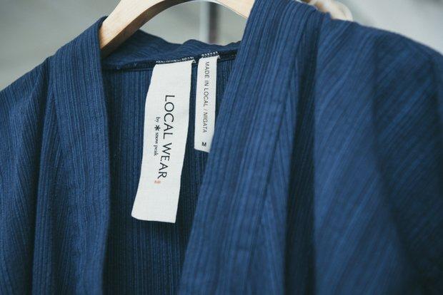 〈LOCAL WEAR〉ブランドもまた、スノーピークの大きな売りのひとつになりつつある。