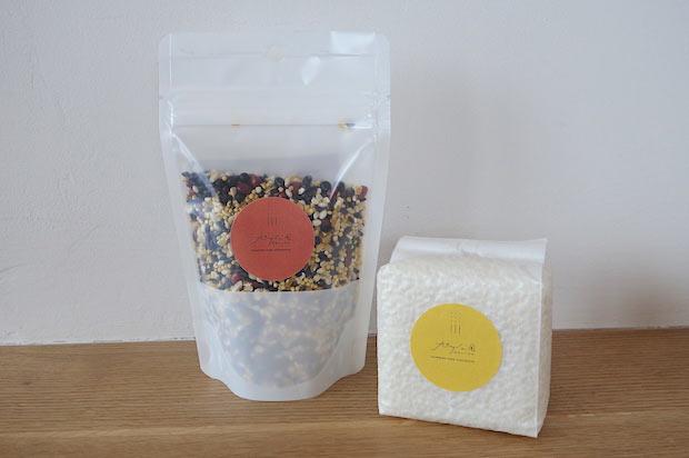 旭川公園オリジナルブレンド米。購入も可能。