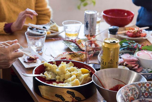 お正月の食卓