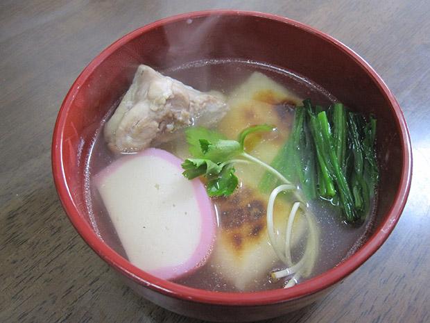 関東風お雑煮。