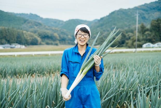 「『葉っぱの部分なんて今まで食べてなかった』という人が食べてくれるようになったらうれしい」と祥子さん。