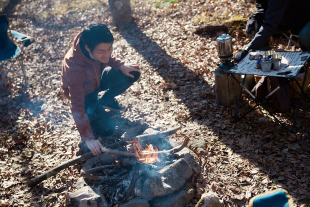 郡上八幡のまちなかを流れる吉田川の源流域をたびたび訪れ、焚火などを楽しんでいるという。