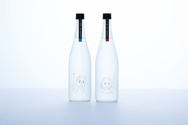 人気イラストレーター塩川いづみが担当した瓶の絵柄にも注目。