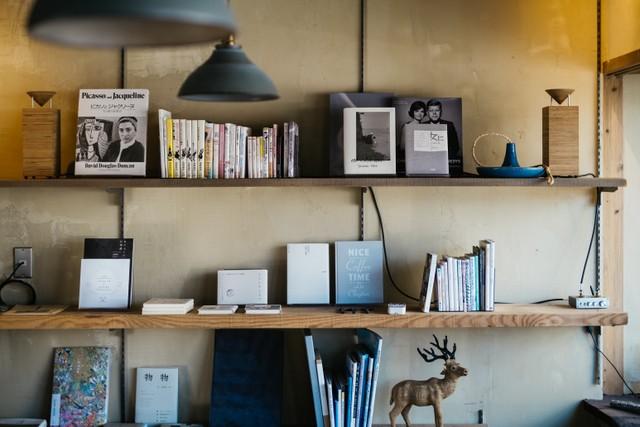 〈ukishima〉の本棚。