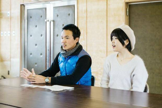 嵩宗さんがバイクで日本全国を旅しているとき、冬奈さんの地元である福井でたまたまふたりは出会った。