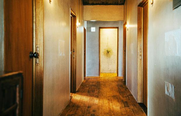 およそ3か月の改装期間を経てオープンしたというhotel aiaoi。