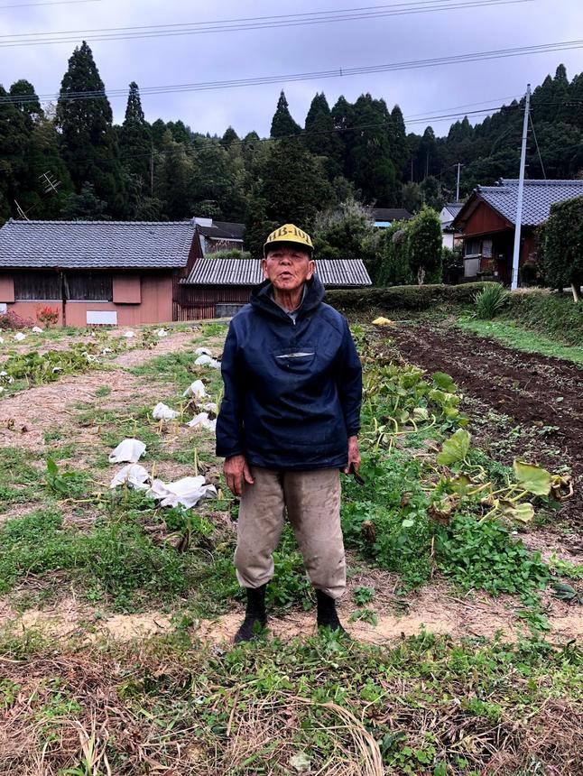 川辺町で代々暮らしてきた農家。