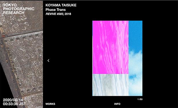 公式サイトで公開されている写真家、小山泰介さんのプロジェクトページ。小山さんは文化庁新進芸術家海外研修制度によって2014年から2年間ロンドンで活動し、その後アムステルダムを経て、2017年末に帰国。生物学や自然環境について学んだ経験を背景に、実験的なアプローチによって現代の写真表現を探究している。