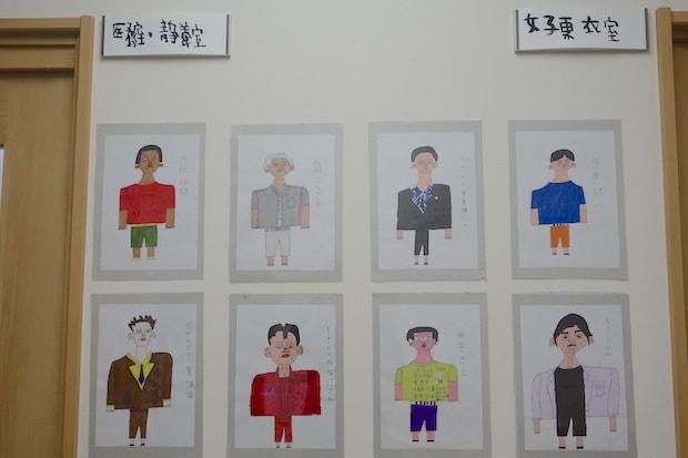 イケメン好きなhiroyukiさんが手がけた『イケメンとTシャツと僕』。「医療室・静養室」「女子更衣室」など、部屋の名前はyoshikiさんの作品。