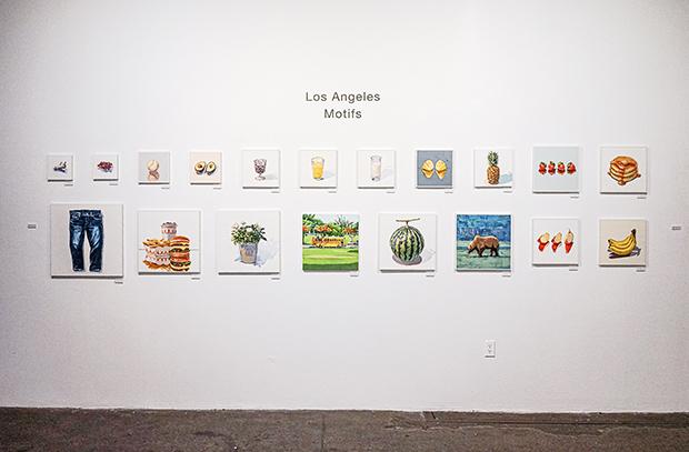 ロサンゼルスのあたたかさや日光の眩しさが感じられる作品たち。