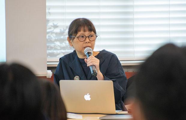 岡崎カメラの講師を一緒にしている写真家のMOTOKOさん。いま、全国でローカルフォト活動をされています。