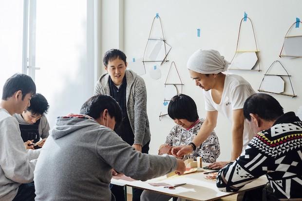〈Good Job! Project〉ワークショップの様子 Photo: Michio Hayase
