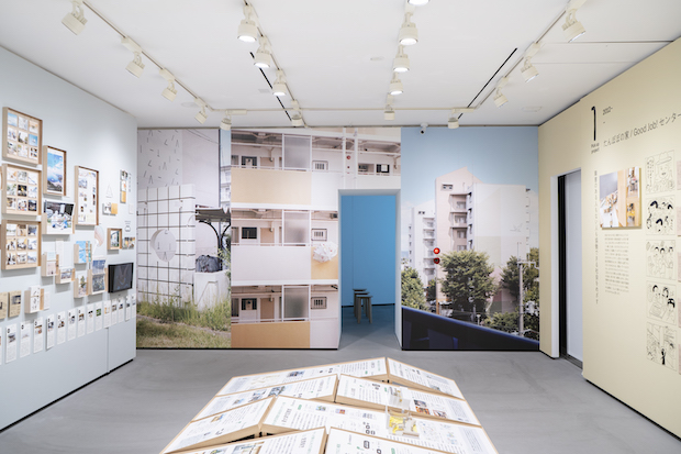 〈Tomorrow is Today: Farming the Possible Fields〉展示会場の様子。