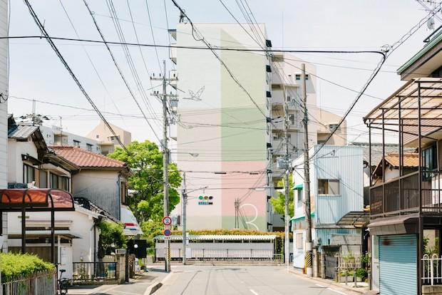 〈UR都市機構〉の色彩計画(2017-)VI, 色彩計画, サイン計画 Photo: Yoshiro Masuda