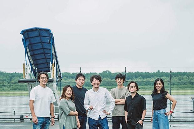 〈BRIDGE KUMAMOTO〉の理事メンバー。左から中島昌彦、田中美咲、三城賢士、佐藤かつあき、稲田悠樹、中屋祐輔、村上直子