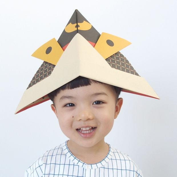 日本に代々伝わるかぶとのディテールをアレンジした柄〈KABUTO Traditional〉。