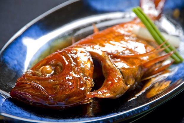 浜の湯名物「金目鯛姿煮」#食べるお宿浜の湯 特別価格4,500円(税込)