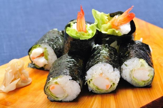 (株)一平グループ 一平寿司のレタス巻き 1,134円