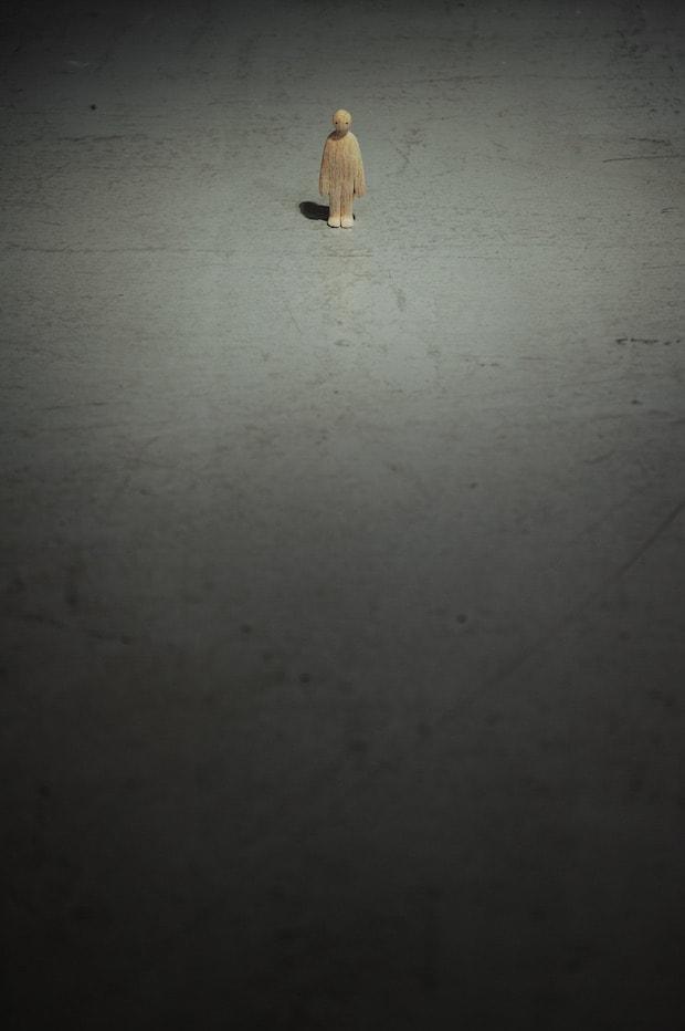 《ひと》2014 年 資生堂蔵 資生堂ギャラリー、東京 「椿会展2014―初心―」撮影:畠山直哉