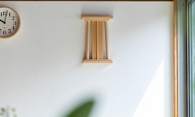 壁掛け型はこのような感じでお部屋に馴染んでくれます。