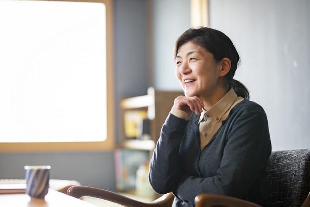 濱井憲子さん。