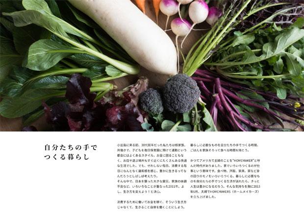私たちのこと、野菜のこと、ジンジャーシロップのこと、いままでちゃんと伝えられてなかったことをまとめました。