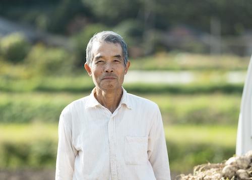 ずっと地域で森の学校を守ってきた農家の東敬一郎さん。