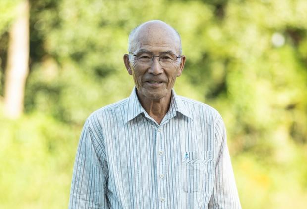 リバーバンクの長老であり地域の世話役である光雄さん。