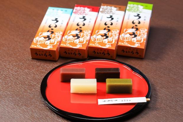 小田原に代々伝わるお菓子のういろうの販売も。
