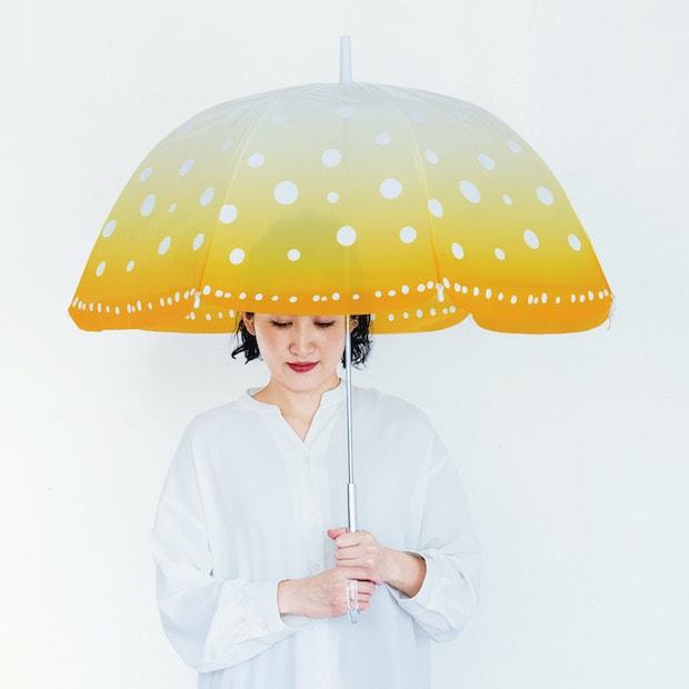 YOU+MORE!  雨空を泳ぐ タコクラゲの傘 1,600(税抜)