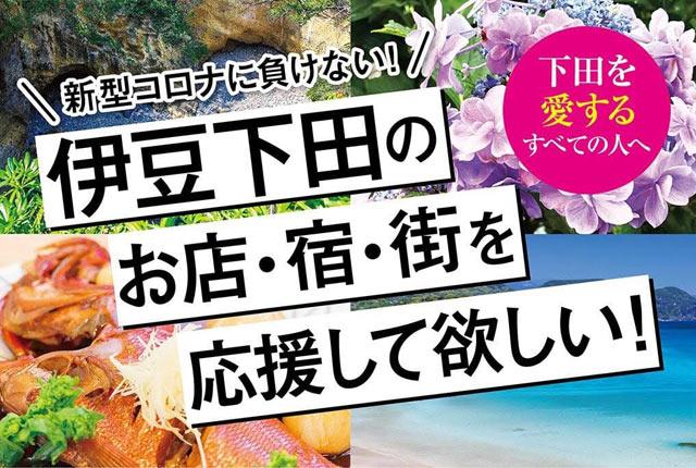 「新型コロナから伊豆下田を守りたい! 緊急支援プロジェクト」Webページ