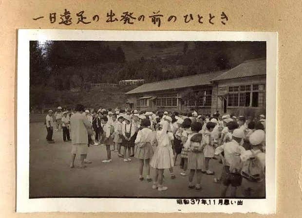 学校に残っていた昭和30年代の写真より。