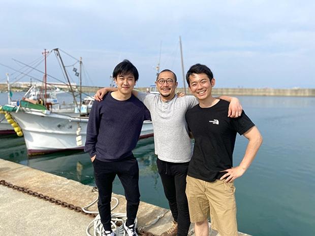 左から、ベンナーズの古田さん、パノラマ代表の斉藤さん、ベンナーズ代表の井口さん。