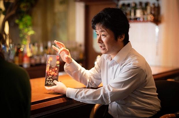 ニシタチまちづくり協同組合 理事長の齊藤さん。