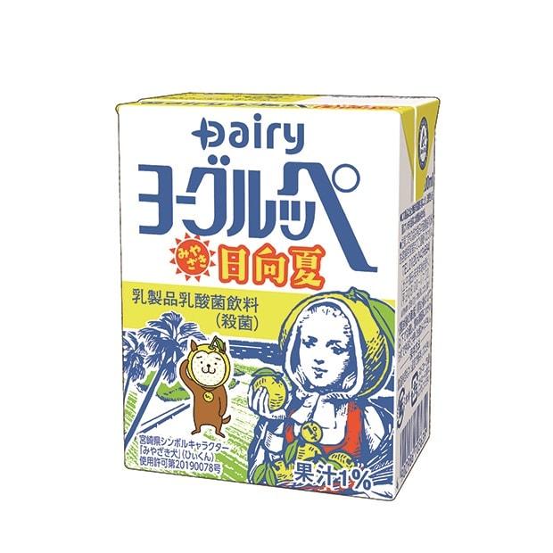 101円(税込)内容量:200ml 九州の生乳と三種混合菌でマイルドな味わいに。地域で愛される〈Dairy〉のロングセラー商品。