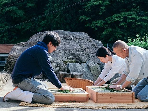 七咲さんの家族を中心に地域の住人や移住者との関わりが生まれ、新しいお茶づくりが展開され始めた。