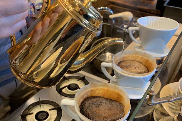 カフェ・ティカルのコーヒー