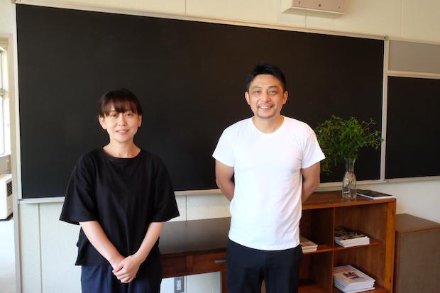 スタッフの渡部祐子さんと店長の齋藤誠さん。