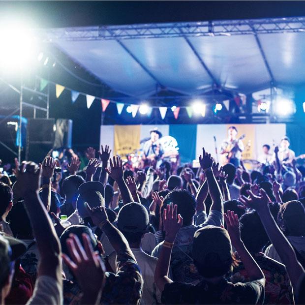 岐阜を代表する音楽フェス〈OUR FAVORITE THINGS〉。