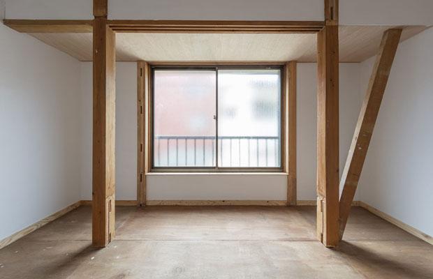 2階のプライベートルーム。このほか4室ある。