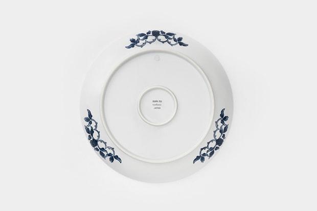 裏面も美しく細部へのこだわりが伝わる一皿。
